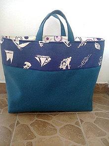 Nákupné tašky - Veľká plážova taška 2 - 6962213_