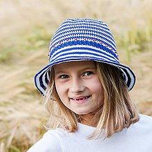 Detské čiapky - Námornícky klobúčik 1 - 6960824_