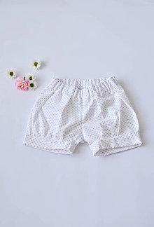 Detské oblečenie - Dievčenské bavlnené kraťasky - 6960696_