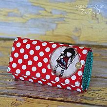 Peňaženky - Peňaženka bodkovaná - 6962621_