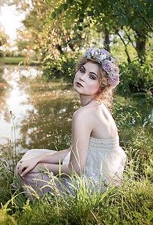 Ozdoby do vlasov - výpredaj zo 60 eur Kvetinový venček
