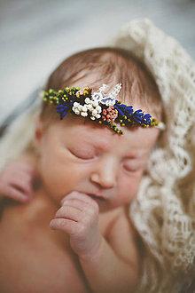 Ozdoby do vlasov - Newborn venček pre bábätko