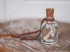 Drobnosti - lahvička na drobnosti či mléčné zoubky - 6963343_