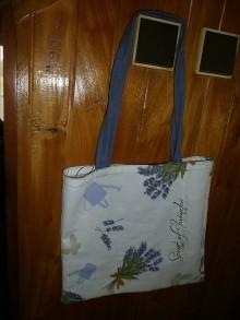 Veľké tašky - Levandulová taška - 6964706_
