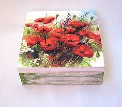 Krabičky - Krabička Maky na lúke - 6965731_