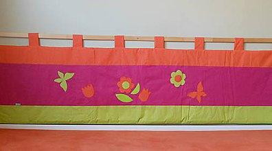 Úžitkový textil - Zástena bez vreciek-Jarná - 6964053_