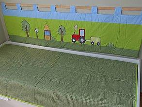 Úžitkový textil - Zástena bez vreciek-Farmárska - 6964071_