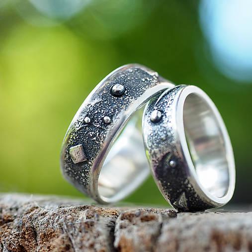 Prstene - Vesmírne obrúčky /Ag/ - 6963912_