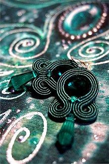 Tričká - smaragdové tričko - 6965081_