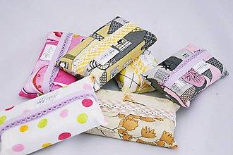 Iné tašky - Prenosný obal / zásobník na papierové vreckovky - 6964360_