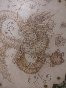Dekorácie - Tajomný drak Haku - 6963977_