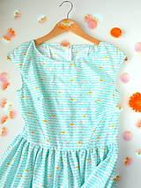 Šaty - dámske šaty Turquoise - 6964327_