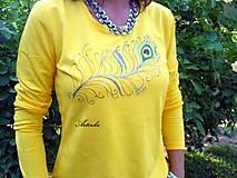 """Tričká - Tričko dámske """"yellow"""" - 6965204_"""