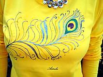 """Tričká - Tričko dámske """"yellow"""" - 6965205_"""