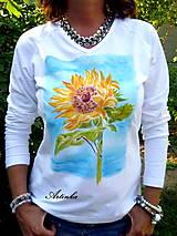 """Tričká - Tričko dámske """"sunflower"""" - 6965240_"""