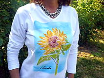 """Tričká - Tričko dámske """"sunflower"""" - 6965241_"""