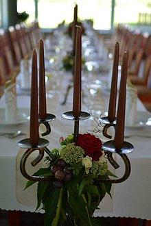 Dekorácie - Kvetinová výzdoba s Dahliami - 6968741_