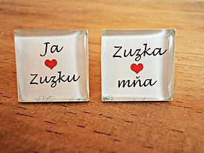 Šperky - Ja ľúbim Zuzku... - 6969333_
