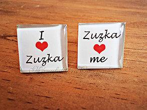 Šperky - I love Zuzka... - 6969339_