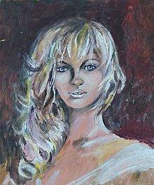 Obrazy - Portrét ženy - 6968558_