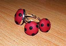 Sady šperkov - Jednoducho bodky - 6969425_