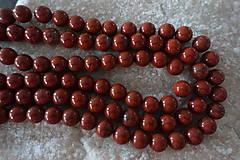 - Jaspis červený I 10mm - 6967008_