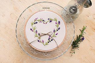 Prstene - Svadobný kruh levanduľa - 6968575_