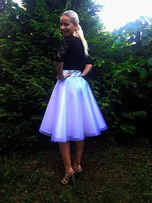 Sukne - Kruhová spoločenská tutu sukňa - 6967960_
