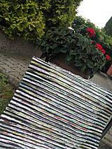 Úžitkový textil - Koberec zeleno čierny 104x73cm - 6968272_