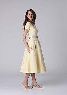 Šaty - Šaty MIDI long s vreckami - 6972385_