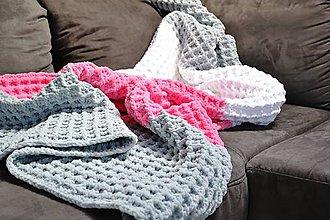Úžitkový textil - Deka veľká 120x170cm - 6972624_