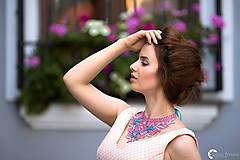 """Náhrdelníky - farebný náhrdelník candy cotton - """"sweet lace"""" - 6973224_"""