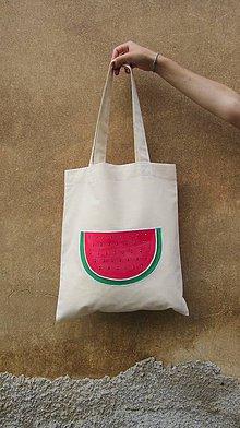 Nákupné tašky - VESELÝ MELOUN - 6969975_