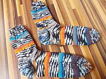 """Obuv - pletené ponožky skladom """"JedinyPar4"""" veľ.34-35 - 6971831_"""
