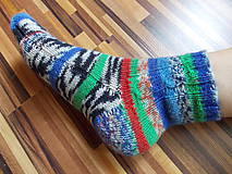 """Obuv - Pletené ponožky """"JedinyPar1"""" veľ.34-35 - 6971877_"""