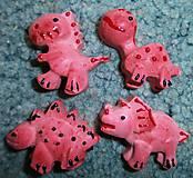 Magnetky - Voňavé magnetky - dinosaurus - 6970929_