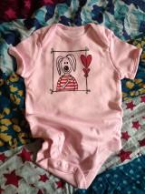 Detské oblečenie - In Love body - akciová cena - 6971684_