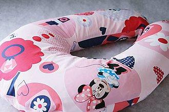 Úžitkový textil - Vankúš na dojčenie Minnie - 6974393_