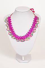 """Náhrdelníky - farebný náhrdelník candy cotton - """"sweet candy"""" - 6976232_"""