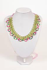 """Náhrdelníky - farebný náhrdelník candy cotton - """"sweet candy"""" - 6976233_"""