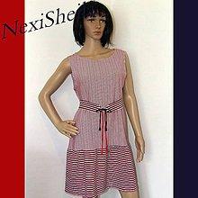 Šaty - Trikolóra- letné šaty - 6974199  2d39d43a1ce