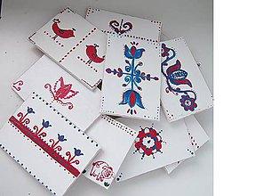 Papiernictvo - Tradičné Slovenské drevené pohľadnice - 6976009_