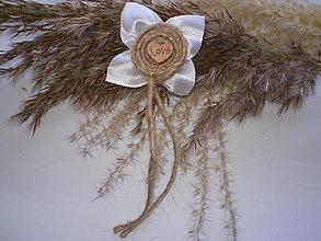 Pierka - vintage svadobné pierko V. - 6975125_