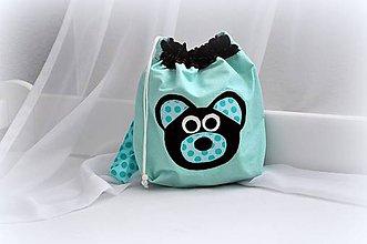 Detské tašky - Ruksak, batôžtek macko 35X27 - 6973957_