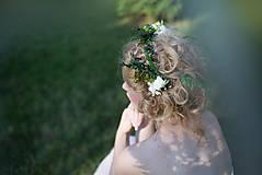 Ozdoby do vlasov - Prírodná sponka