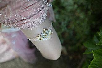 Bielizeň/Plavky - Svadobný podväzok