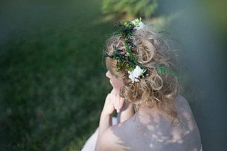 Ozdoby do vlasov - Prírodná sponka \