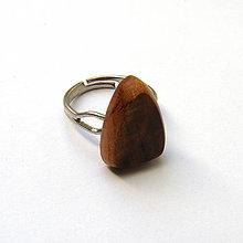 Prstene - Marhuľový kalus - trojuholníček - 6974118_