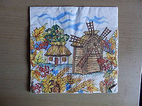 Papier - veterný mlyn - 6974872_