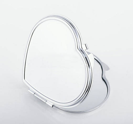 Zrkadlo s lôžkom srdce B/ / 1ks